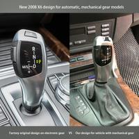 1pcs Durable Car LED Shift Knob Automatic LED Gear Shift Knob for BMW E90 E91 E93 E81 E82 E84 E87 E88 E89 LHD Leather Plastic