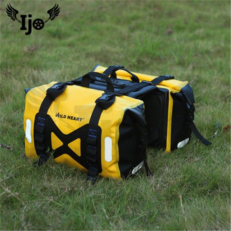 Мод мотоциклетные водонепроницаемый оберточный материал сумка полный водонепроницаемый double pack Baotou шлем сумка мотоцикл заднее сиденье сум