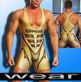 Sexy Men Sport GYM Medias Wrestling Singlet Unitard Ropa Interior Ropa Interior Hombre Body Suit Body Leotardo Junta Beach Surf Trajes de baño