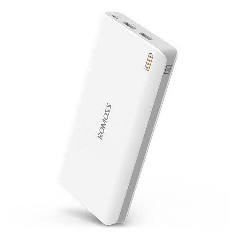 Original ROMOSS Sense 6 Dual USB 20000mAh 18650 Power Bank 201834 3