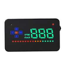 Car Styling Universal Car Hud Head Up Display A2 3.5″ GPS Speedometer Smart Digital Car Speedometer OBD2 Interface High Quality