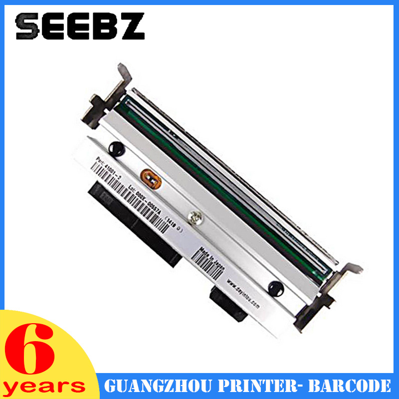 SEEBZ Printer Supplies New Compatible G41400M Thermal Print Head Barcode Label Printhead For Zebra S4M 203dpi new thermal print head printhead compatible for datamax i4206 i4208 i 4206 i 4208 thermal barcode printers 20 2181 01 203dpi