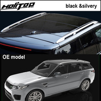 Original style roof rack roof rail bar for Range Rover Vogue 2013 2017, silver & black, ISO9001 quality, free shipping to Asia.