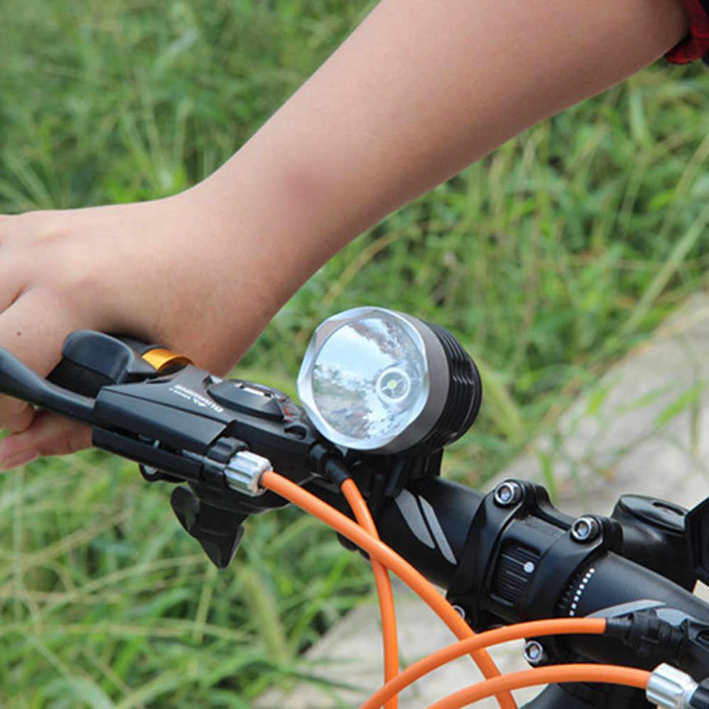3000 לום XML Q5 ממשק LED אופניים אור אופני אור פנס פנס 3 מצב אופניים אורות מנורת חיצוני רכיבה על אופניים #25