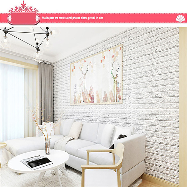 3D Brick Wall Sticker Self Adhesive Foam Wallpaper Panels Room Decal High  Qulity Hot Sale