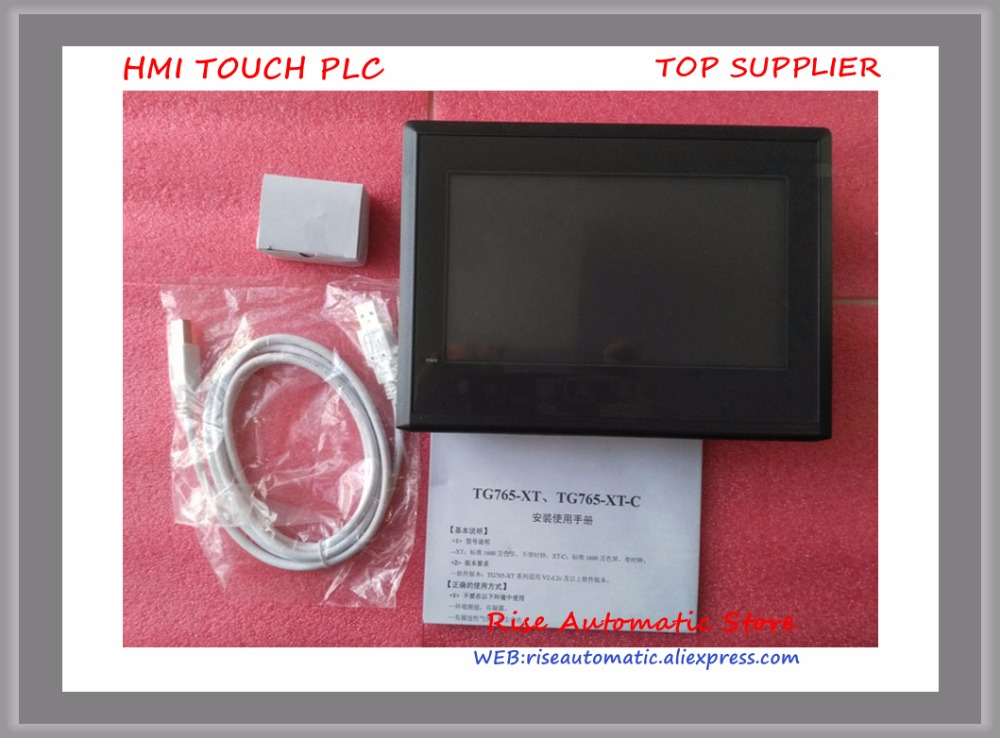 7 inch TG765-XT-C HMI touch screen new in box 100% Tested Good Qualiy tg465 mt2 4 3 inch xinje tg465 mt2 hmi touch screen new in box fast shipping