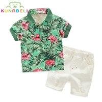 Brand Baby Boys Clothing Sets New Summer Fashion Hawaii Beach Style Kids High Quality Clothing Children Print Shirt Shorts B009