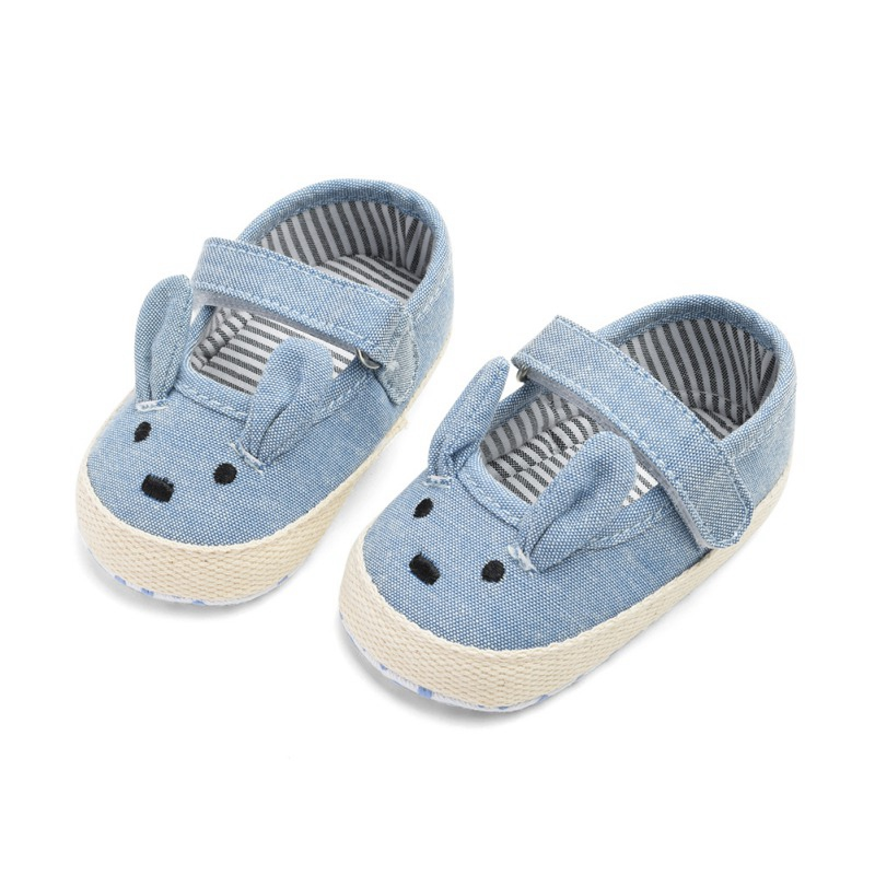 Bunny Spring And Autumn Single Shoes Baby Princess Shoes Baby Slip Breathable Toddler Shoes