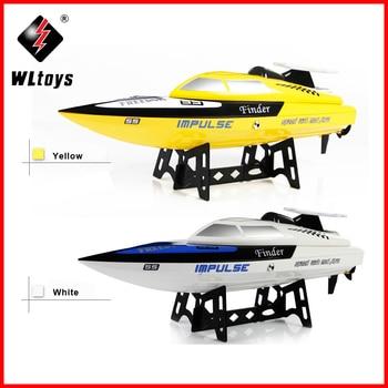 Origial WLtoys WL912 4CH High Speed Racing RC Boat 24km/h RTF 2.4GHz Remote Control Racing Boat VS FT009 VS UDI001