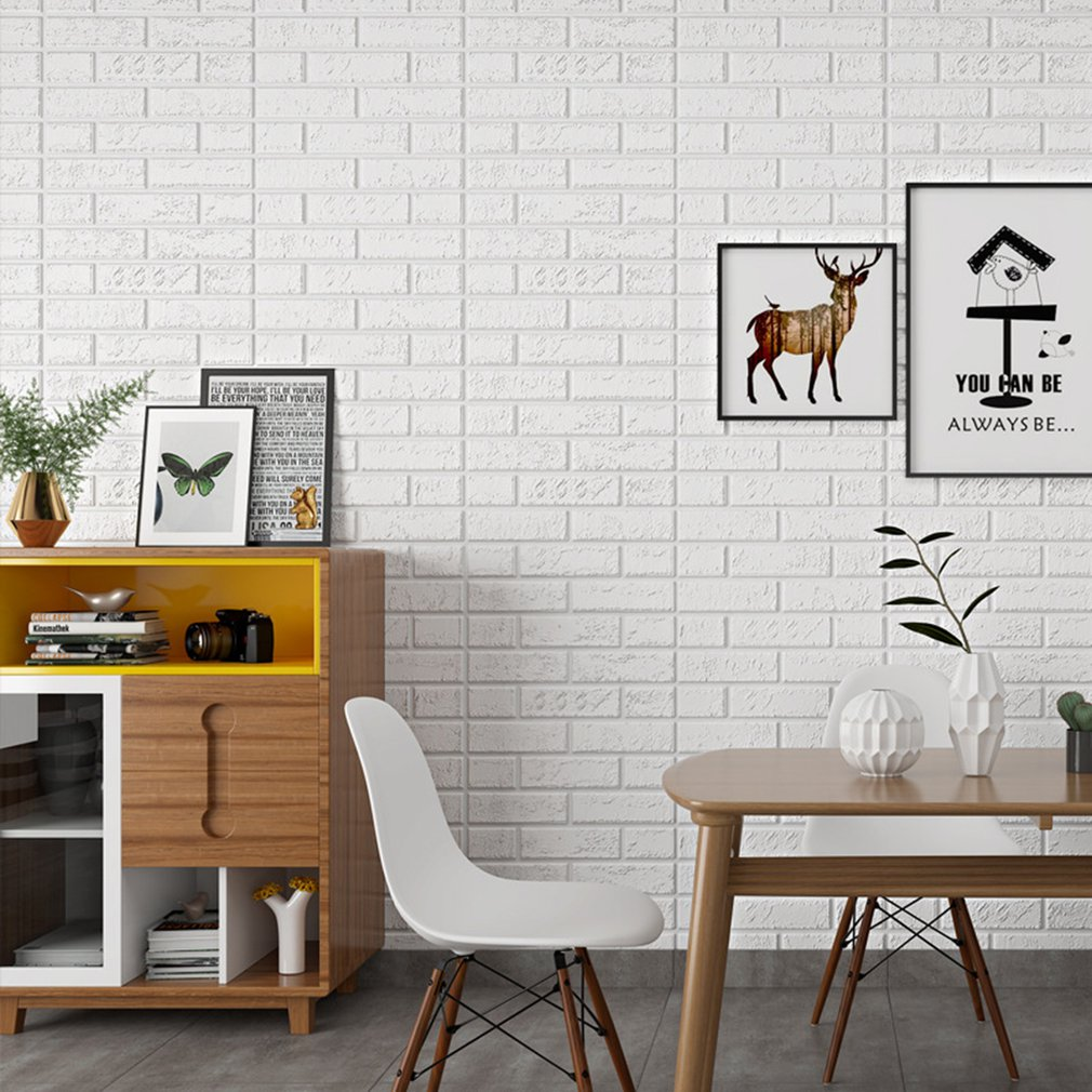 Creative 30*60cm Stereo Foam XPE PVC Floor Contact Paper Covering Self-adhensive Waterproof Wall Stickers