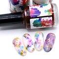 12Color Nail Polish Art Gel Nail Soak Off No Need LED/UV To Gel Nail Lacquer Halo Dye Ink 15ml Smoke Color Halo Dye Varnish DIY