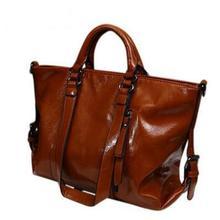 2016 femmes en cuir sac à main En Cuir Verni femmes sac à main style britannique épaule sac bandoulière femmes messenger sacs fourre-tout Q4 F235