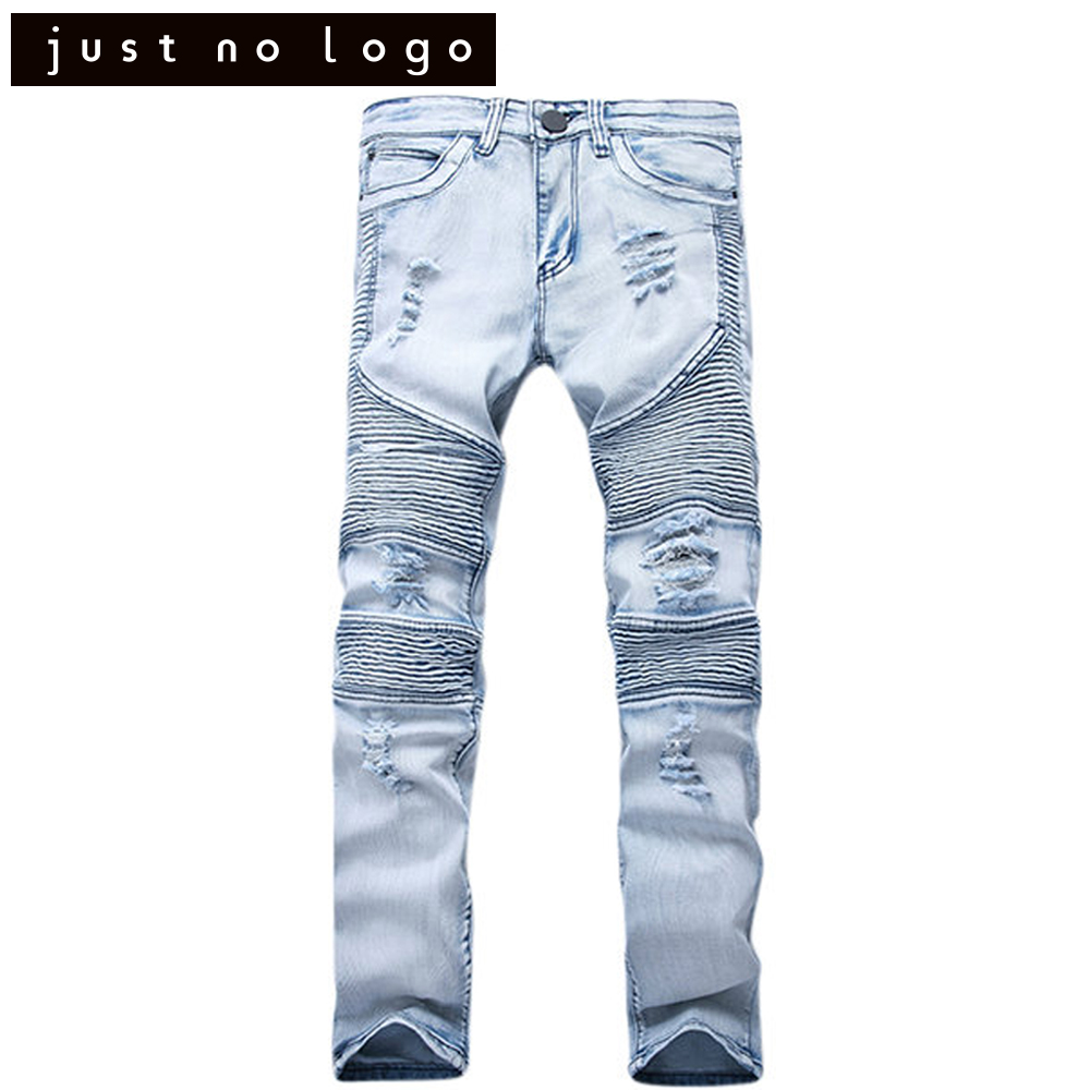Mens Great Stretchy Destroyed Ripped Biker Jeans Tapered Torned Trousers Slim Fit Skinny Straight Moto Denim Distressed Pants represent clothing designer pants slp destroyed mens slim denim straight skinny biker jeans men slim fit ripped jeans 1376 7 8