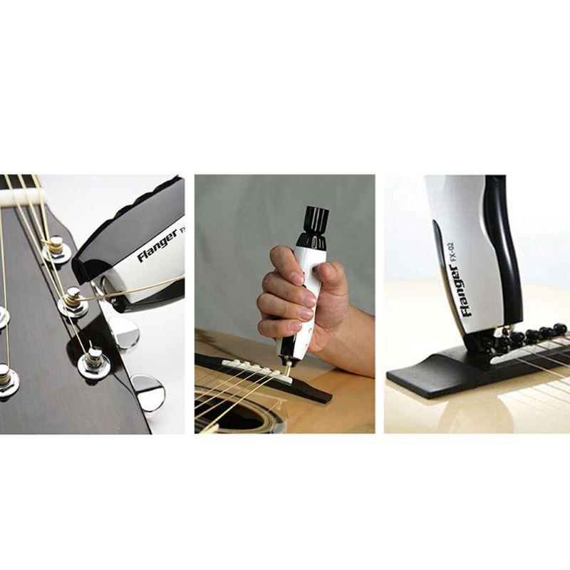Enrouleur de guitare électrique avec extracteur de broches de pont 200 tr/min vitesse et couple parfaits USB rechargeable