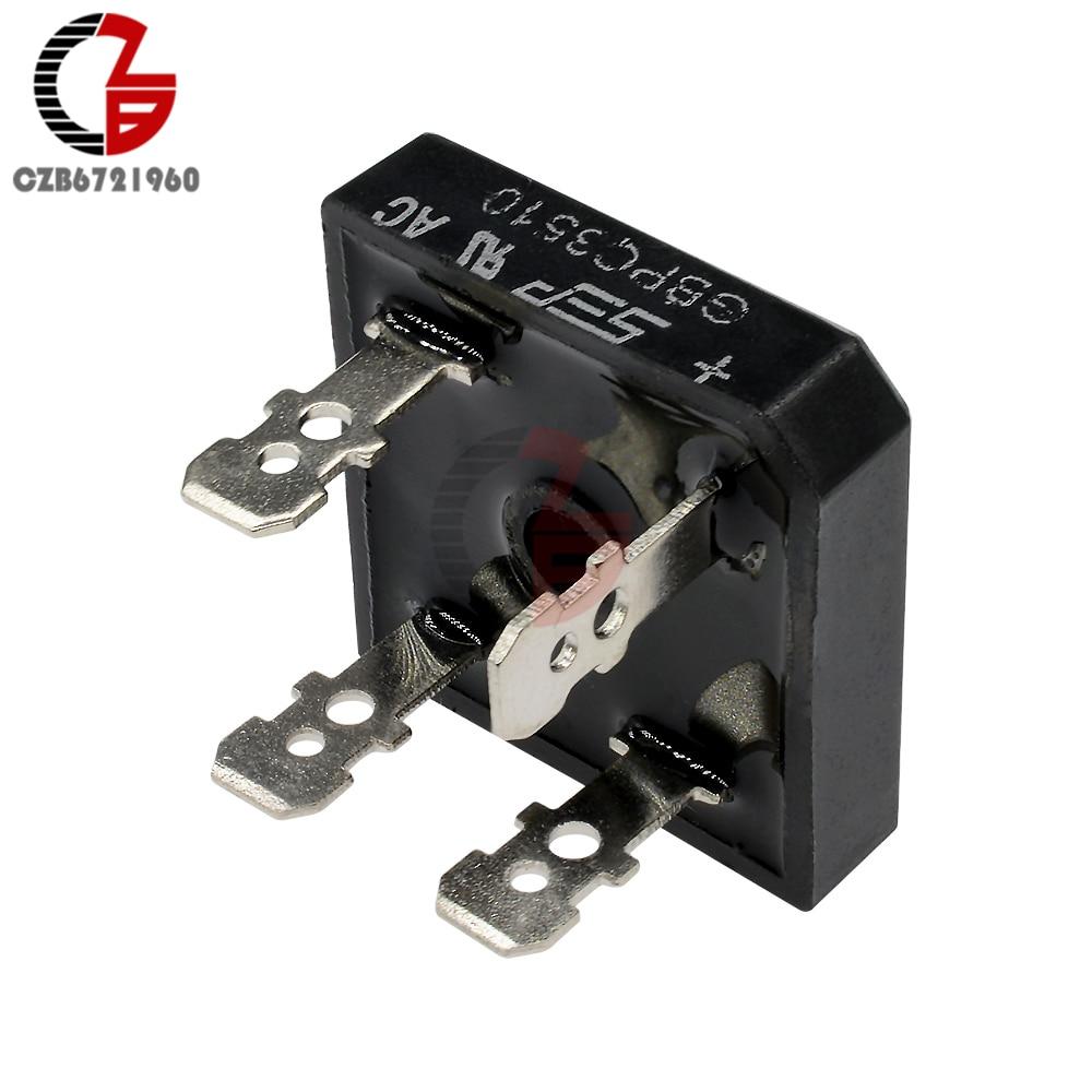 2pcs KBPC3510 Diode Bridge Rectifier Single Phase Metal Case 1000V 35A USA