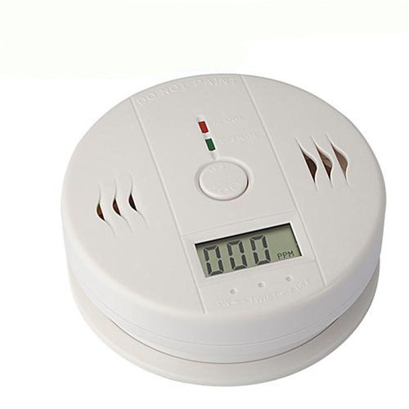 Smoke Poisoning Gas Carbon Monoxide Security Sensor Alarm System Smoke detector Car home Easy to install Alarm test button b#
