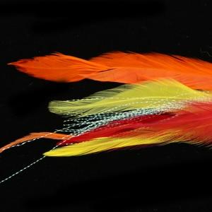 Image 5 - 2Pcs 17.8cm וו/צינור פורל סלמון Steelhead פייק לטוס דיג Streamer זבובי קרס דיג כלי עבור מלוחים מים מתוקים