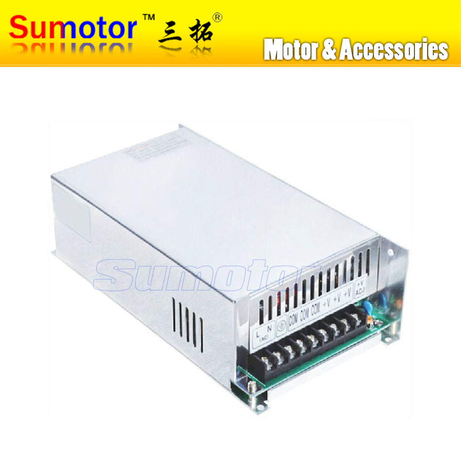 AC to DC 24V 20A power supply switch control Electric adapter Input 100~240V 50/60Hz Output 24V 20A for monitor DC motor