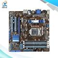 Para asus p7h55-m pro original usado madre de escritorio de intel h55 socket LGA 1156 Para i3 i5 i7 DDR3 16G HDMI DVI VGA En venta