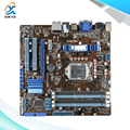 Para asus p7h55-m pro original usado tomada motherboard desktop para intel h55 LGA 1156 Para i3 i5 i7 DDR3 16G HDMI DVI VGA Em venda