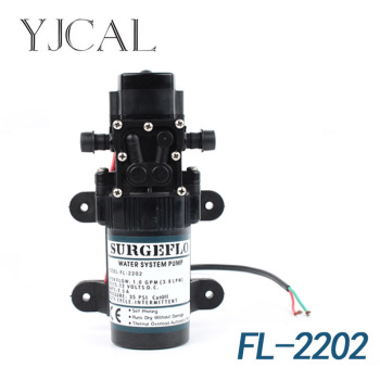 FL-2202 12V DC Electric Sprayer For Small Sized Water Pump Drilling Machine High Pressure Self Suction Pump Fittings car washer 220v household high pressure cleaner self suction cleaner water jet brush pump self washing pump