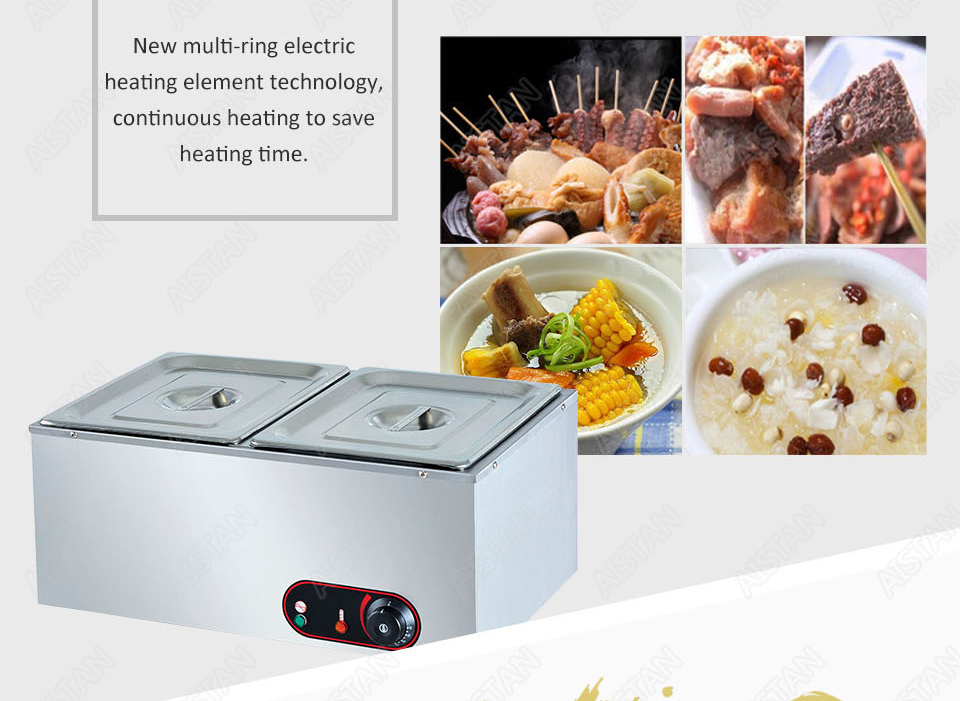 EH1A electric bain marie food warmer machine for hotel and restaurant 7