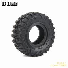 4PCS D1RC 슈퍼 그립 2.2 인치 타이어 120mm 타이어 1/10 스케일 축 90018 90048 90045 90031 TRX4 D90