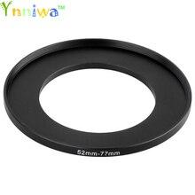 52 77mm Metal adım halkaları lens adaptörü filtre seti