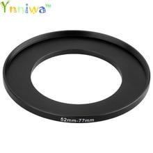 52 77mm métal pas à pas anneaux adaptateur dobjectif ensemble de filtres