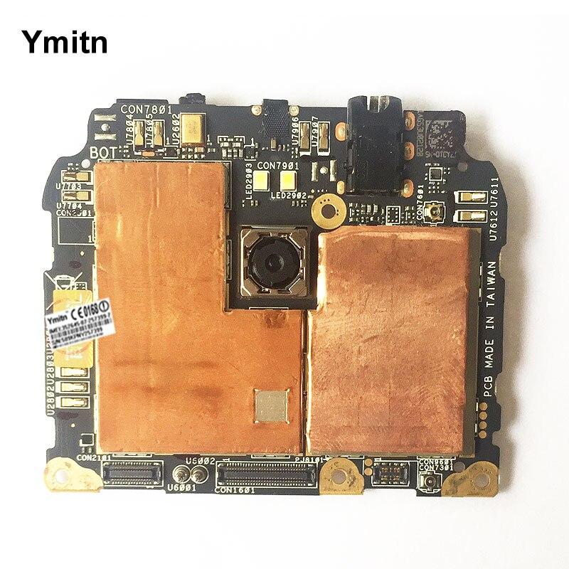 Débloqué Ymitn Mobile panneau Électronique carte mère Carte Mère Circuits Flex Câble Pour ASUS ZenFone 2 ZE551ML Z00AD 4 gb RAM