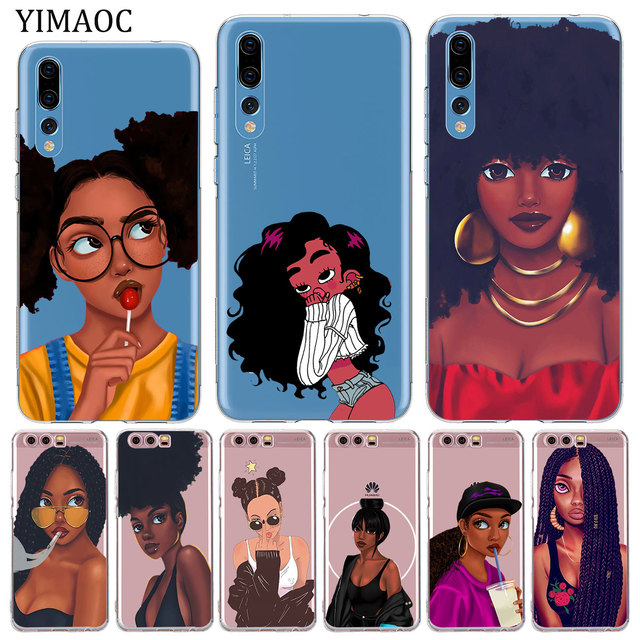 YIMAOC Sexy Hot Girl Summer Twerk It Swag Soft Silicone Case for Huawei P20  Pro P10 P8 P9 Lite 2017 2016 2015 P smart 2019 Cover