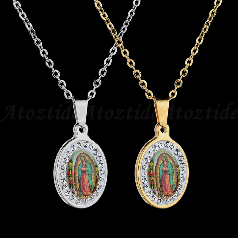 Virgin Mary Necklace Classic