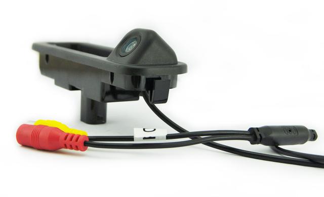 1 CONJUNTO Alça Mala Do Carro e câmera de Visão Traseira Câmera de segurança para Ford Focus III 3 2012-2014