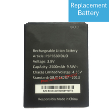 3.8V 2500 mAh Replacement PSP3530 Battery For Prestigio Muze D3 3530 DUO E3 PSP3531 DUO Muze A7 PSP7530 DUO+ Batteries