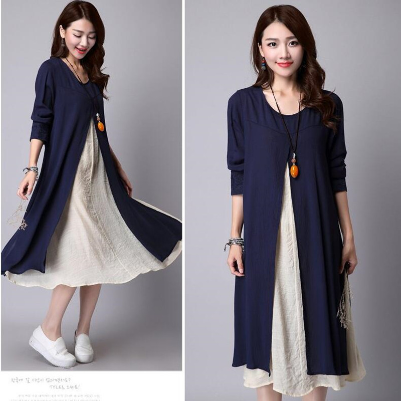 Envsoll Two-piece Linen Dress Maternity Dresses Pregnant Skirt Maternity Clothes For Pregnant Women Pregnancy Clothing VestdiosEnvsoll Two-piece Linen Dress Maternity Dresses Pregnant Skirt Maternity Clothes For Pregnant Women Pregnancy Clothing Vestdios