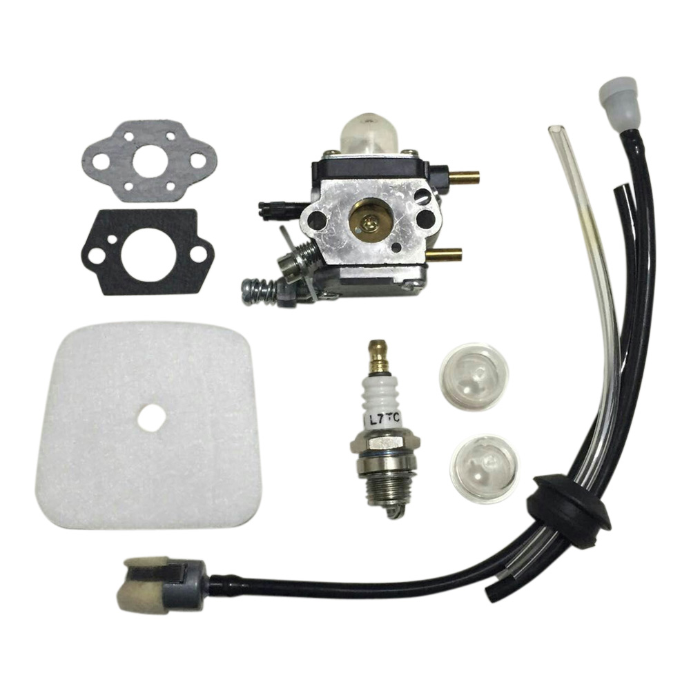 Best Price C1U-K54A Carburetor Carb Gasket Primer Gas Replacement Repair Kit Set for Tiller Type 7222 722E 7222M 7225 7230 7234 livolo us au standard remote touch screen light switch with mini remote black pearl crystal glass panel vl c303r 82
