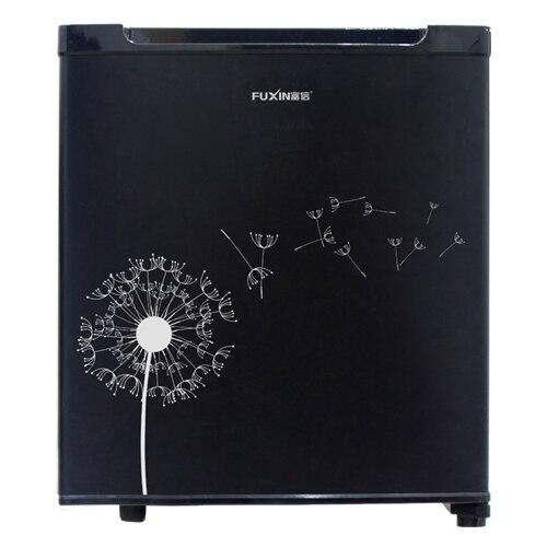 Купить с кэшбэком Household Mute 28L Mini Electric Refrigerator Room Hotel Single Compact Fridge Sample Wine Energy Saving Freezer Machine