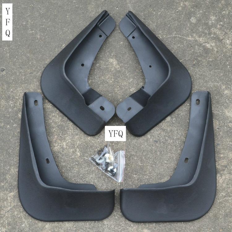 Автозапчасти пластик Брызговики Всплеск гвардии для 2010-2014 Mitsubishi Lancer/Lancer X/Lancer Evo автомобиля стиль