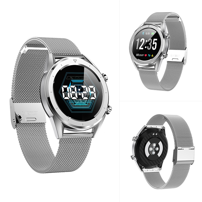 ECG PPG Smart Watch IP68 Waterproof Color Screen men Fashion Fitness Tracker ECG Heart Rate Blood Pressure Oxygen Smartwatch