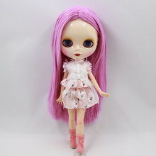 Neo Blythe Doll Pink Lace Shirt With Flower Pants