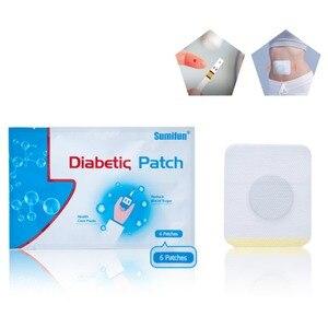 Image 2 - 6 adet/torba diyabet yama azaltmak yüksek kan şekeri diyabet yama ilaçlar doğal otlar diyabetik alçı
