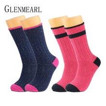Мериносовая женские шерстяные носки Модные Цвет точка качество бренда чулочно-носочные изделия облегающее Coolmax зимние толстые X65 теплые женские сапоги носки