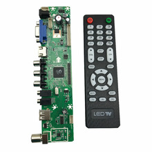 V29 Универсальный Контроллер ЖК Доска ТЕЛЕВИЗОР Материнская Плата VGA/HDMI/AV/TV/USB Интерфейс LA. MV29.P
