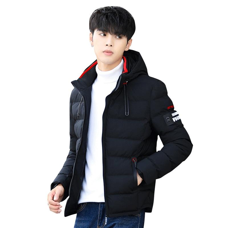 JackJones Men s Cotton Hooded Long sleeved Jacket E 219121565