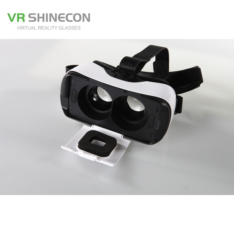 Newest Headset With Touch Button Smartphones Light Portable 3D VR font b Virtual b font font
