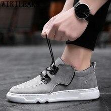 fb6b3ddf836 Décontracté chaussures en cuir hommes blanc baskets de luxe hommes designer  baskets pour hommes chaussures décontractées