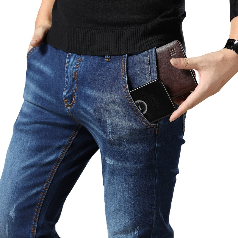 Jeans Clothing Plus Male  Pants