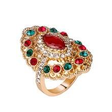 Новинка 2018 украшенное искусственным цирконием женское кольцо