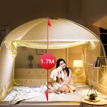 suit for 1M 1.2M 1.35M 1.8M 2M bed high 170cm folding bedtent mosquito net mosquito tent bed net fit for kids adult