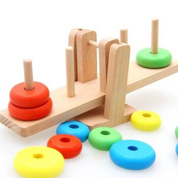 Kidus Wooden Toys Montessori Educational Scale Development Practice and Senses